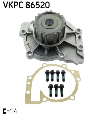 Ilustracja VKPC 86520 SKF pompa wodna