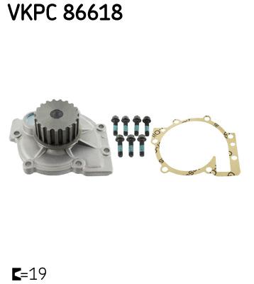 Ilustracja VKPC 86618 SKF pompa wodna