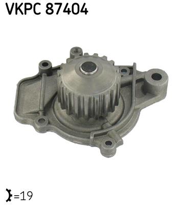 Ilustracja VKPC 87404 SKF pompa wodna