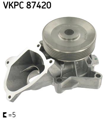 Ilustracja VKPC 87420 SKF pompa wodna