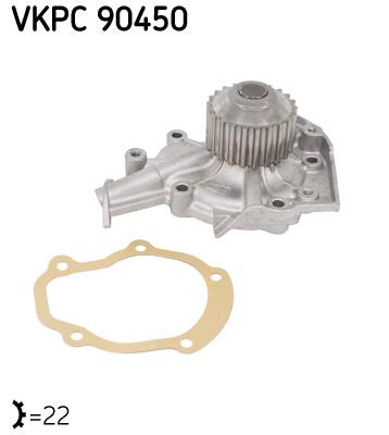 Ilustracja VKPC 90450 SKF pompa wodna