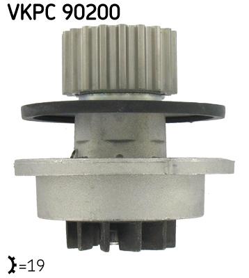 Ilustracja VKPC 90200 SKF pompa wodna