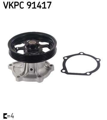 Ilustracja VKPC 91417 SKF pompa wodna