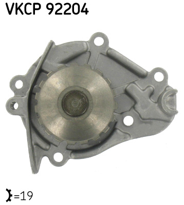 Ilustracja VKPC 92204 SKF pompa wodna