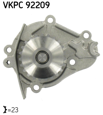 Ilustracja VKPC 92209 SKF pompa wodna