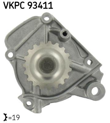 Ilustracja VKPC 93411 SKF pompa wodna