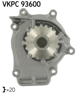 Ilustracja VKPC 93600 SKF pompa wodna