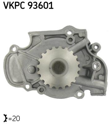 Ilustracja VKPC 93601 SKF pompa wodna