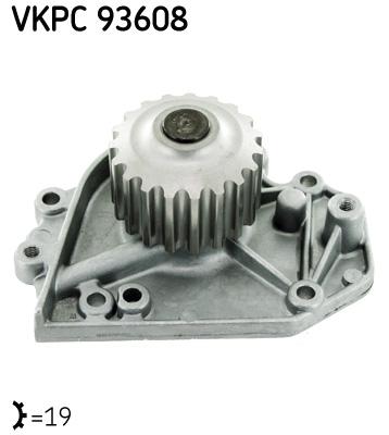 Ilustracja VKPC 93608 SKF pompa wodna