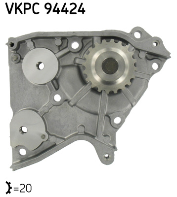 Ilustracja VKPC 94424 SKF pompa wodna