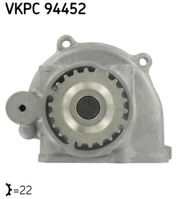 Ilustracja VKPC 94452 SKF pompa wodna