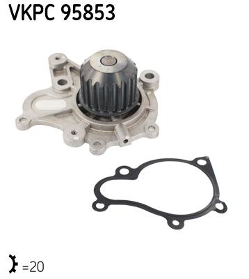 Ilustracja VKPC 95853 SKF pompa wodna