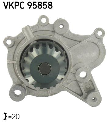 Ilustracja VKPC 95858 SKF pompa wodna