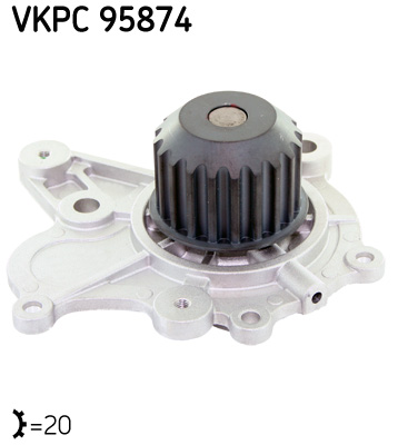 Ilustracja VKPC 95874 SKF pompa wodna