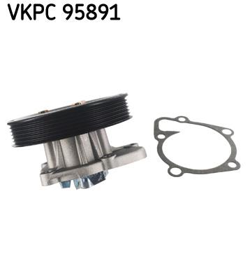 Ilustracja VKPC 95891 SKF pompa wodna
