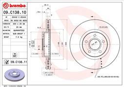 Ilustracja BRE 09.C138.11 BREMBO