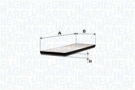 BCF174 MMA MAGNETI MARELLI filtr kabinowy