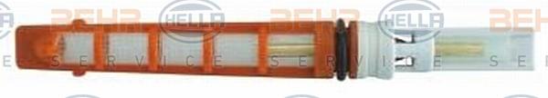 Ilustracja 8UW 351 233-141 HELLA dysza wtryskiwacza, zawór rozszerzalny