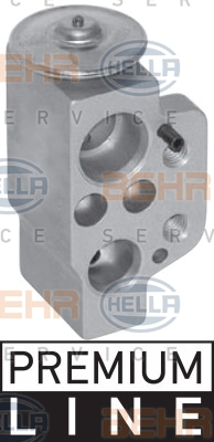Ilustracja 8UW 351 239-661 HELLA zawór rozprężny, klimatyzacja