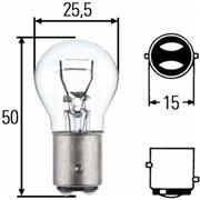 8GD 002 078-121 HEL HELLA żarówka, lampa tylna