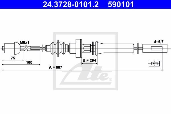 Ilustracja 24.3728-0101.2 ATE linka sprzęgła