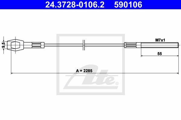 Ilustracja 24.3728-0106.2 ATE linka sprzęgła