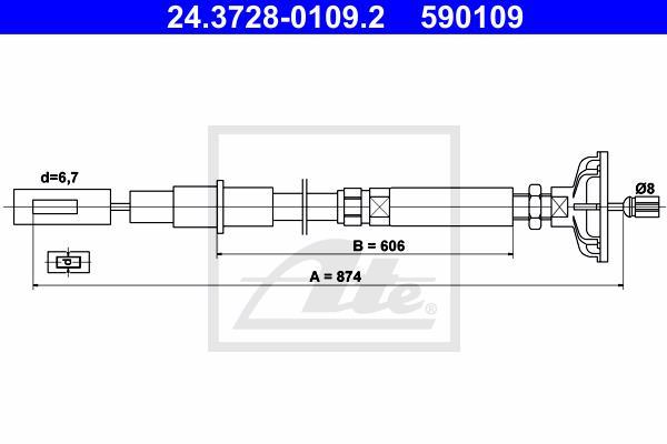 Ilustracja 24.3728-0109.2 ATE linka sprzęgła
