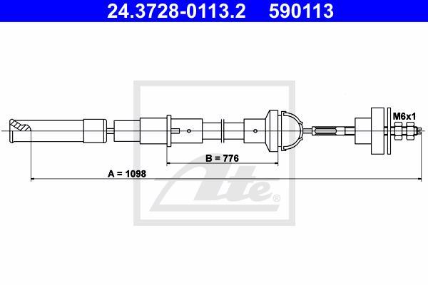Ilustracja 24.3728-0113.2 ATE linka sprzęgła