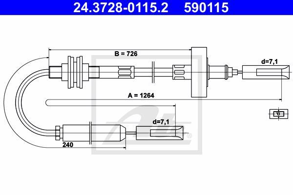 Ilustracja 24.3728-0115.2 ATE linka sprzęgła