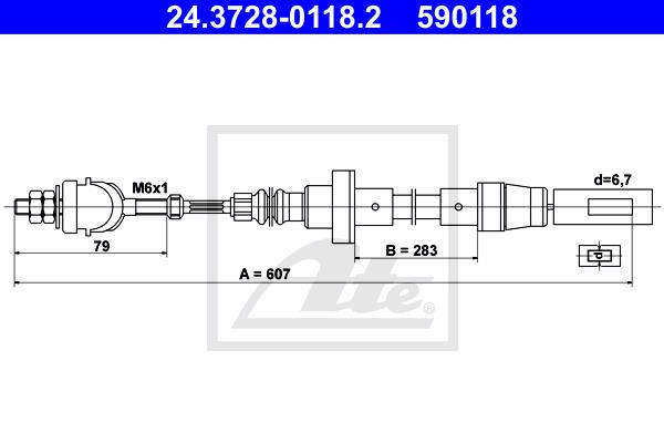 Ilustracja 24.3728-0118.2 ATE linka sprzęgła