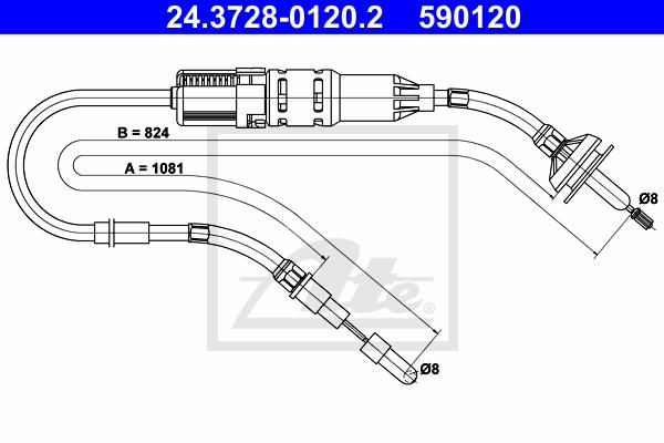 Ilustracja 24.3728-0120.2 ATE linka sprzęgła