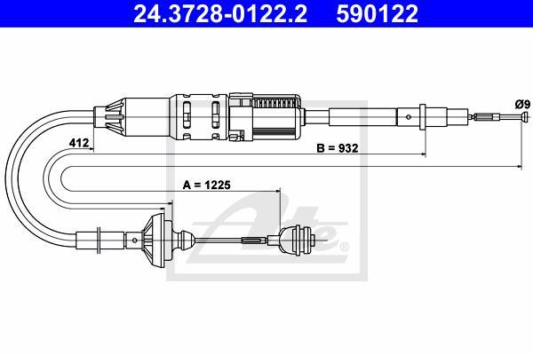 Ilustracja 24.3728-0122.2 ATE linka sprzęgła