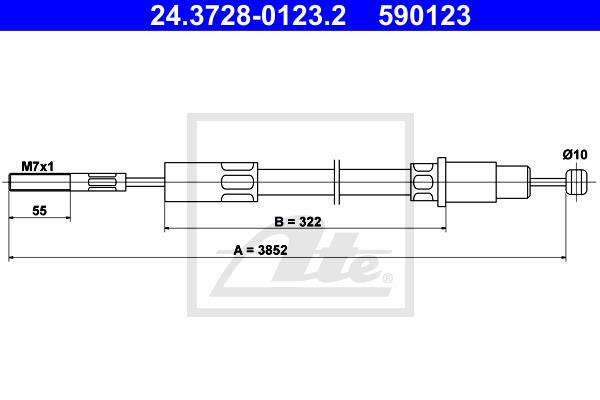 Ilustracja 24.3728-0123.2 ATE linka sprzęgła