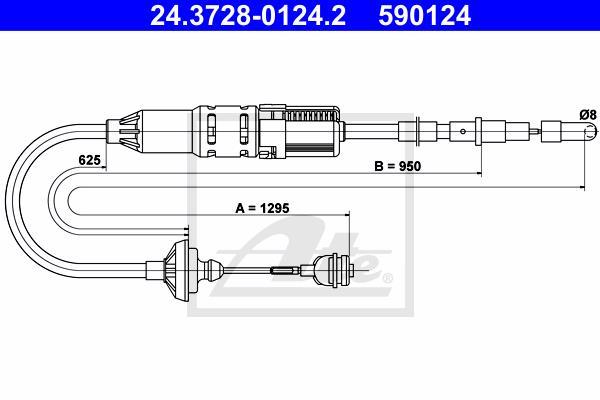 Ilustracja 24.3728-0124.2 ATE linka sprzęgła