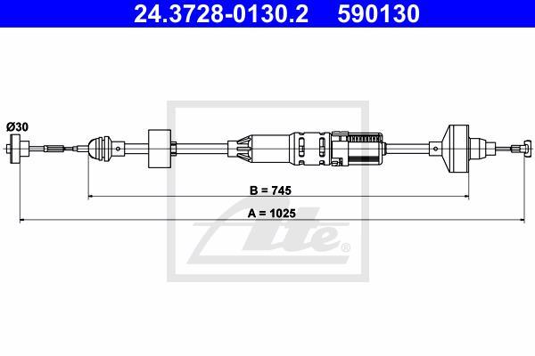 Ilustracja 24.3728-0130.2 ATE linka sprzęgła