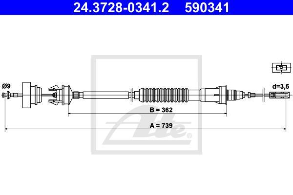 Ilustracja 24.3728-0341.2 ATE linka sprzęgła