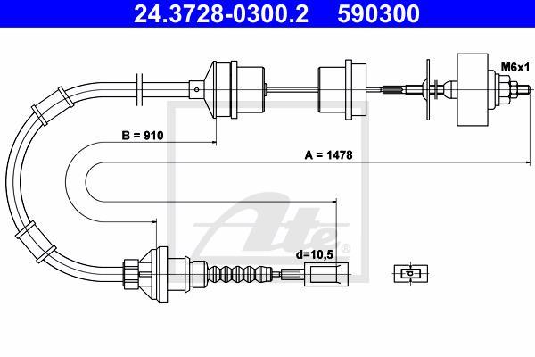 Ilustracja 24.3728-0300.2 ATE linka sprzęgła