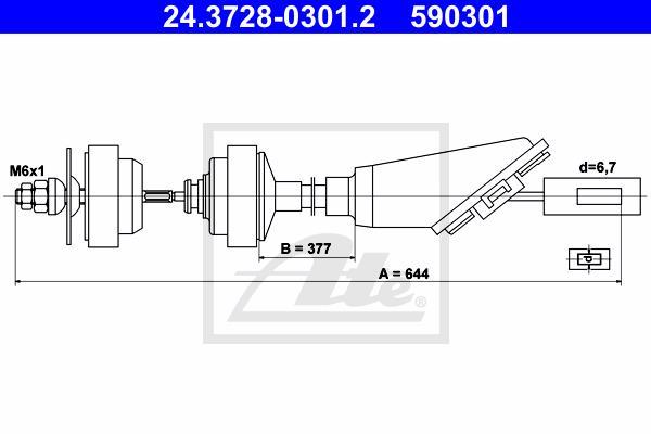 Ilustracja 24.3728-0301.2 ATE linka sprzęgła