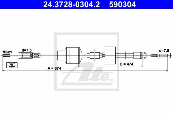 Ilustracja 24.3728-0304.2 ATE linka sprzęgła