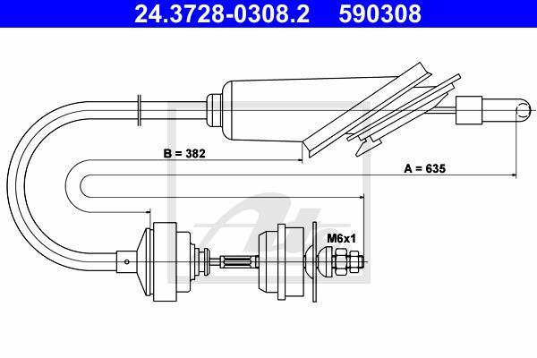 Ilustracja 24.3728-0308.2 ATE linka sprzęgła