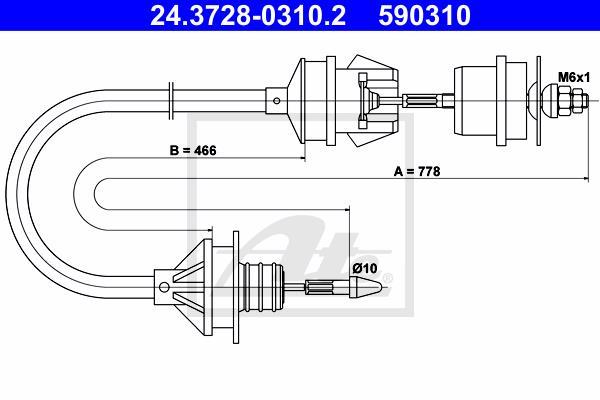 Ilustracja 24.3728-0310.2 ATE linka sprzęgła