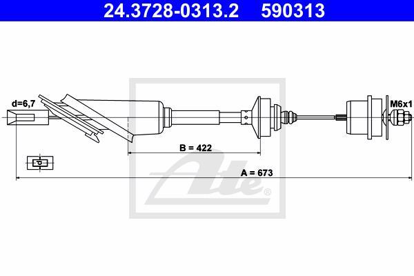 Ilustracja 24.3728-0313.2 ATE linka sprzęgła
