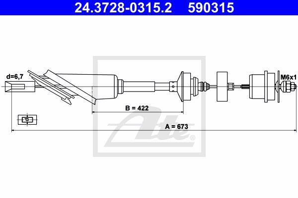 Ilustracja 24.3728-0315.2 ATE linka sprzęgła