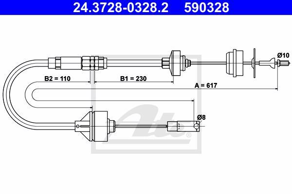 Ilustracja 24.3728-0328.2 ATE linka sprzęgła