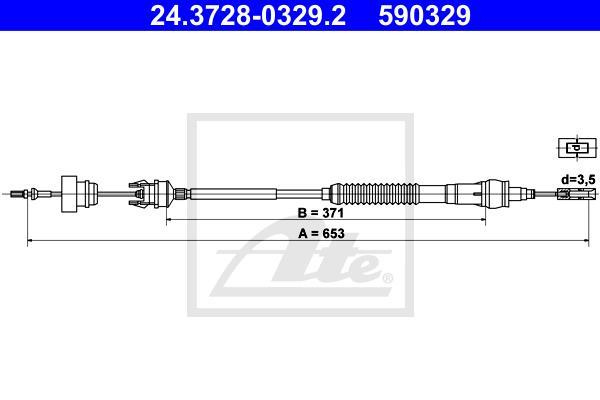 Ilustracja 24.3728-0329.2 ATE linka sprzęgła
