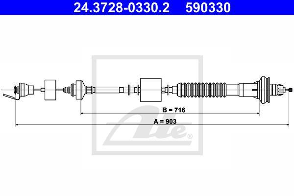 Ilustracja 24.3728-0330.2 ATE linka sprzęgła