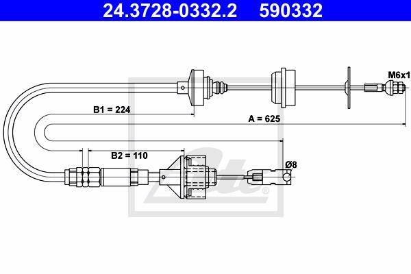 Ilustracja 24.3728-0332.2 ATE linka sprzęgła