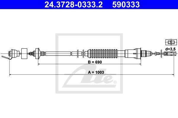 Ilustracja 24.3728-0333.2 ATE linka sprzęgła