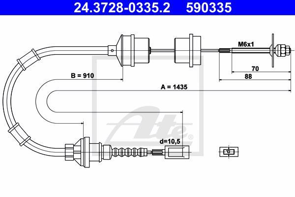 Ilustracja 24.3728-0335.2 ATE linka sprzęgła