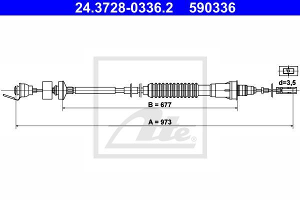 Ilustracja 24.3728-0336.2 ATE linka sprzęgła